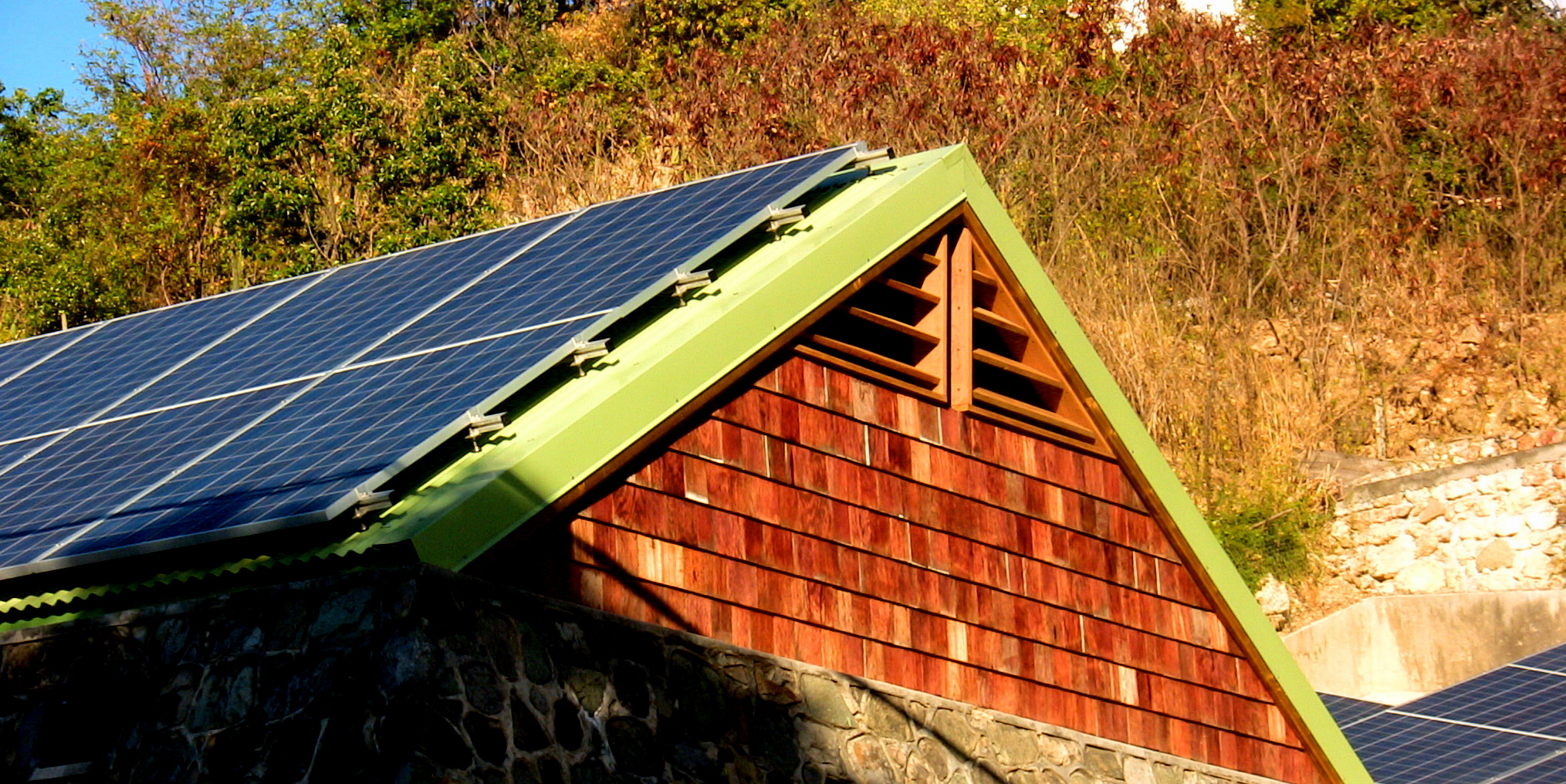 Toit solaire photovoltaïque