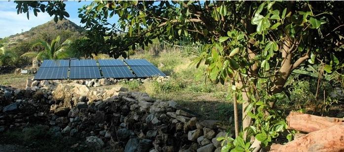 Installation solaire sur site historique