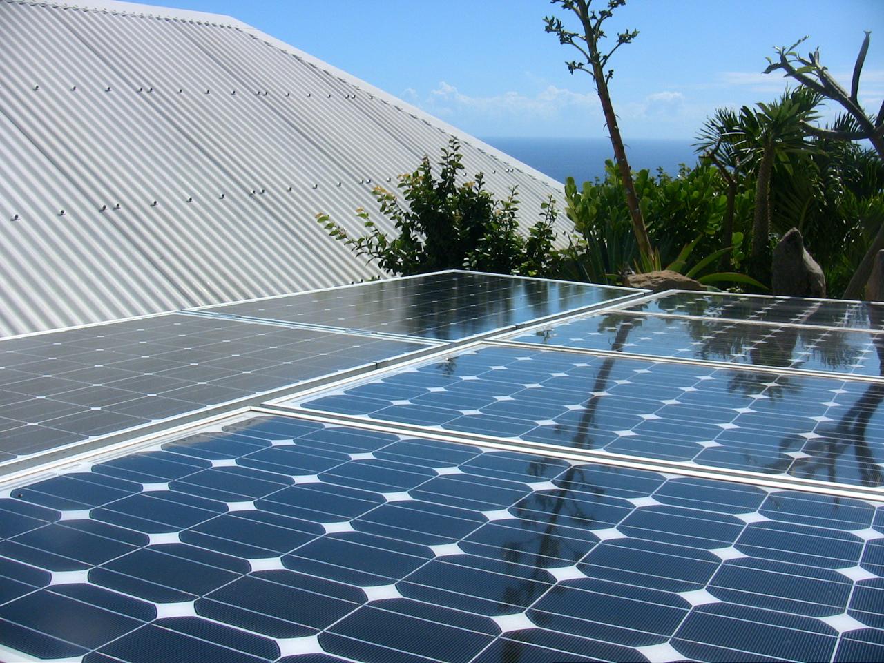 Couverture solaire toit