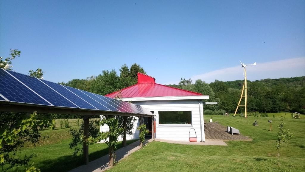 Installation éolienne Inxent