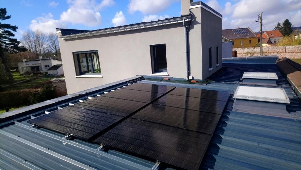 Installation photovoltaïque Marconne